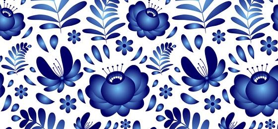 Любой узор на фарфоре всегда имеет свой, уникальный декоративный стиль